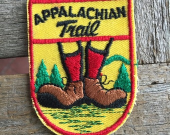 Appalachian Trail Vintage Souvenir Travel Patch from Voyager