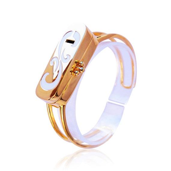 Fitbit  Bracelet VIOLA - Fitbit Jewelry  - 18K gold plated