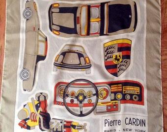 Square of silk Pierre Cardin