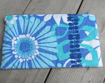 Fun in Blue Pencil Case