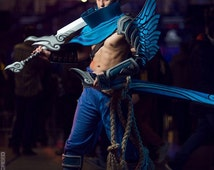 Yasuo League of Legends cosplay all armor and sword costume pvc