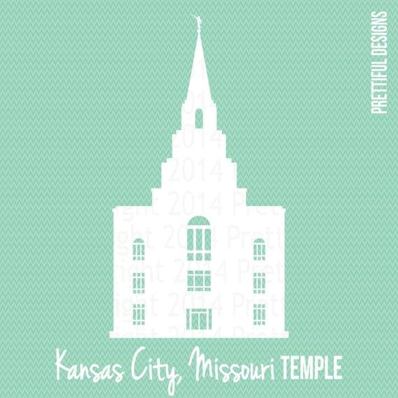 kansas city missouri temple lds mormon clip art png eps svg dxf silhouette cut file vector
