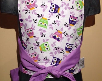 Doll carrier- purple owl, doll mei tai purple owl, owl, mei tai, doll accessoires, doll carrier purple, girl gift, doll, owl kids