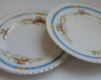 Vintage Johnson & Bros Dessert Plates