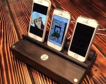 Quarter Phone/Tablet Charging Station