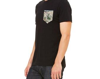 Men S Trail Map Pocket T Shirt Ski Map Shirt Ski Map Art Trail Map Shirt