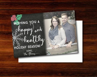 Personalized Holiday Postcard