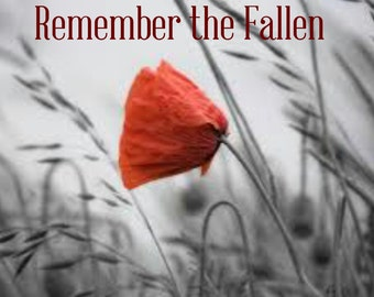 Remember the Fallen. Instant Download.