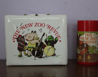New Zoo Revue vintage lunch box 1974