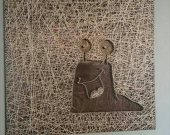 Slug String Art