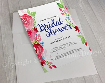 Afternoon Picnic Invitation Design