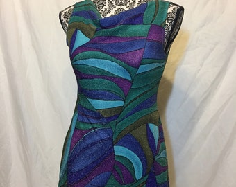 70s Sparkly Short Dress
