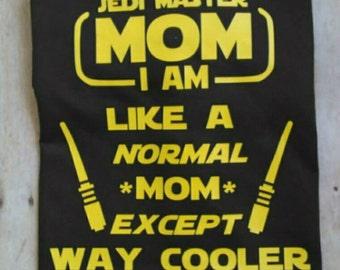 Star Wars Shirt, Star Wars Jedi, Star Wars Mom, Star Wars Jedi Mom, Jedi Mom Shirt
