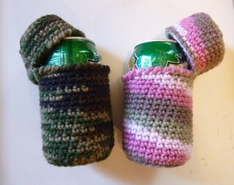 Covered Can Cozy beer cozy, can cozy, no bees in my beer