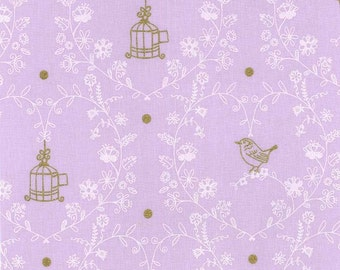 Wee Sparkle by Michael Miller - Free Bird Opal - Cotton Woven Fabric - CLEARANCE