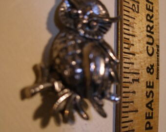 Pewter Owl Figural(448)