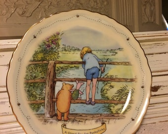Winnie the Pooh Limited Edition Plate