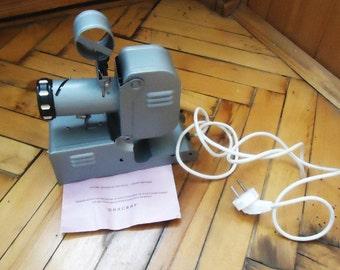 Filmstrip Projector Green , Soviet vintage Projector, Diafilm, Filmstrips, Movie projector, Film viewer, Soviet toy, Made in USSR, 1980s
