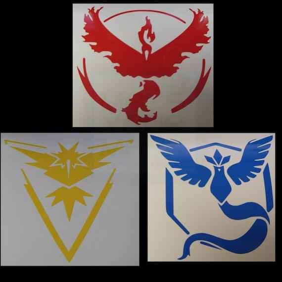 Pokemon Go Team Instict Valor Or Team Mystic By Makeyourmark3d