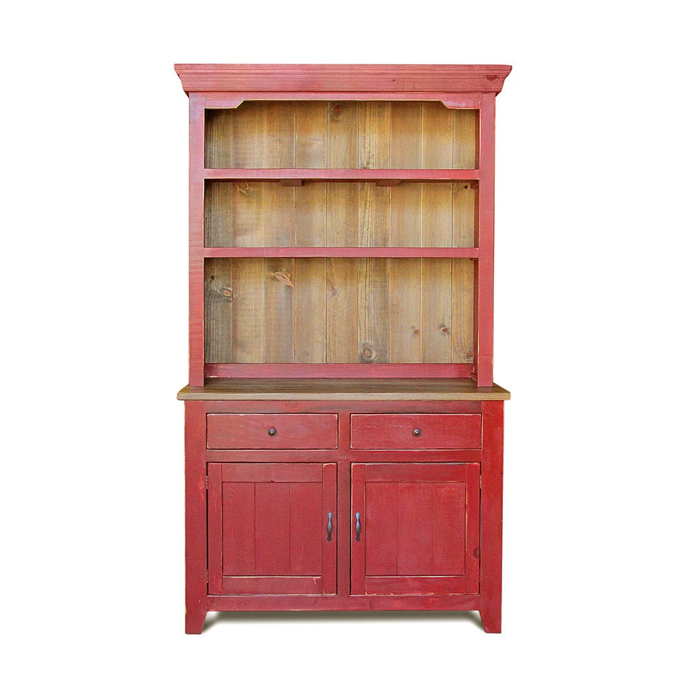 Wood Hutches Sideboards And Buffets ~ Sideboard hutch buffet reclaimed wood china by