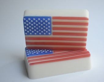 USA FLAG Soap