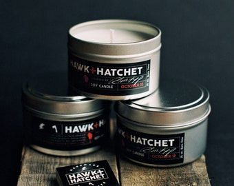 Hawk and Hatchet Travel Tin