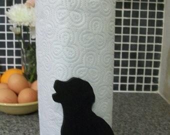 Dog  Kitchen Towell Holder