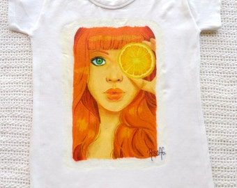 Handpainted Cotton T-Shirts