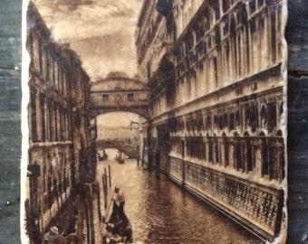 Bridge of Sighs Venice Tile