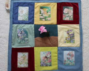 Memory Support Blanket ~ The Enchanted Garden ~ Memories from a lost childhood ~ Flower Faries, Beautiful Blooms