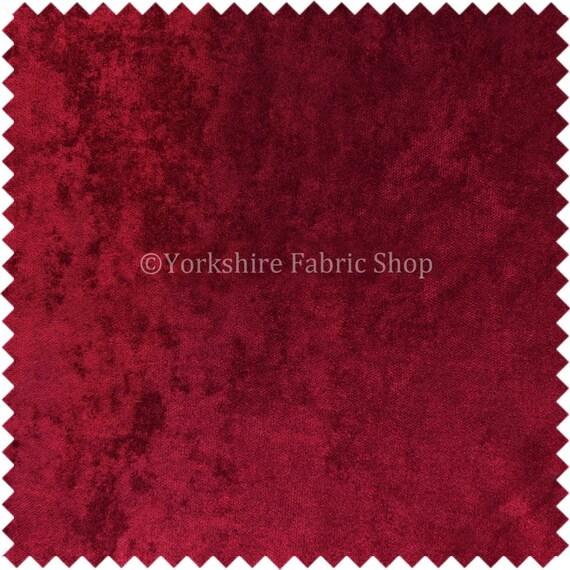 Velvet Chenille Fabric Sofa: Designer Luxury Quality Soft Crushed Velvet Texture