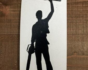 Evil Dead Ash Boomstick Decal