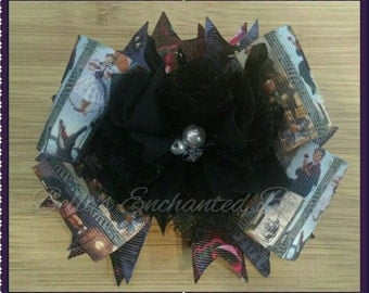 Haunted Mansion Portraits hair bow