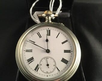 Antique Longines Pocket Watch