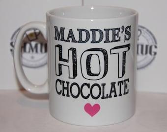 Shmug Personalised fun 'favourite drink' printed mug/cup