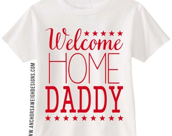 Welcome Home Daddy Youth Tee