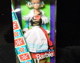 Mattel Dolls of the World German Barbie Doll