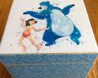 "Decorative Box ""Jungle Book"""