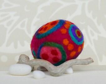 Easter egg, Felted Easter egg, Easter present, Easter gift, Easter wool egg