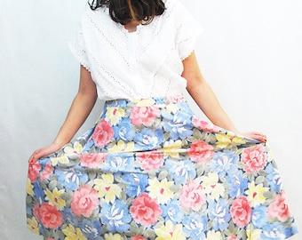 Skirt.Skirts.Vintage skirt.women skirts.Womens skirt.Women skirt. Size-M-L