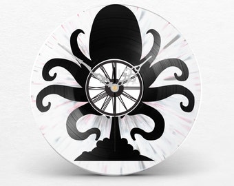 Disk clock dual layer / / Octopus / / Octopus