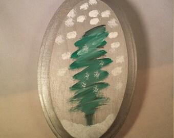 Christmas Tree painting decor