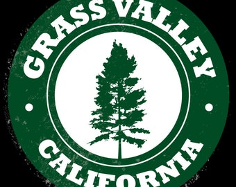Grass Valley California Pine Trees