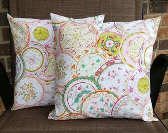 Pink Dreams 14x14 Pillow Cover Set