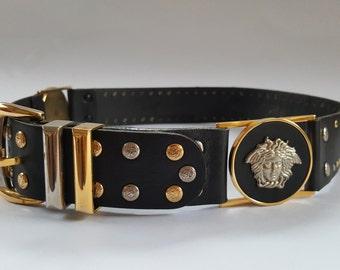 Authentic Vintage Gianni Versace Medusa Belt