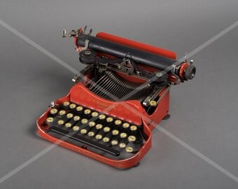 Fine Art Print of a antique Corona Typewriter