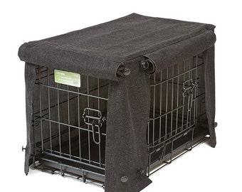 Washable Crate Covers - Charcoal