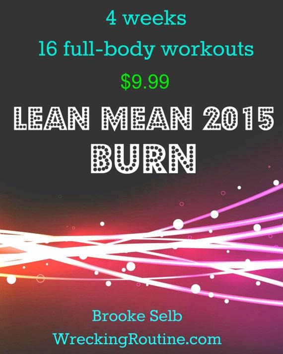 Lean Mean 2015 Burn Boot Camp