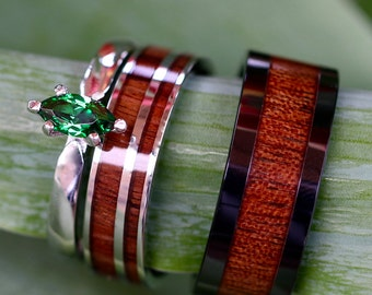 Ceramic Inlay Ring Etsy