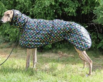 Greyhound coat, greyhound clothing, greyhound winter coat,  coat